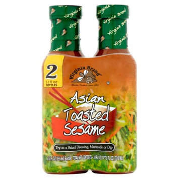 Vita Specialty Foods, Inc. Virginia Brand Asian Toasted Sesame Dressing, 12 oz, 12 pack