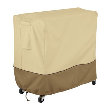 Classic Car Accessories Classic Accessories Verandaâ ¢ Patio 80 Qt. Rolling Deck Cooler Cover - Durable and Water Resistant Outdoor Cover (55-871-041501-00)