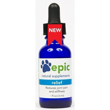 Relief Natural Electrolyte Joint Pain Relief Pet Supplement. Safe for All Pets. Made in USA [Dropper]