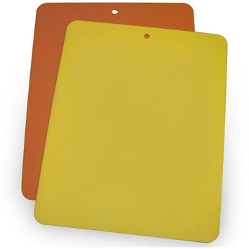 Linden Sweden Bendy! Flexible Cutting Board - Package of Two -Yellow/Orange