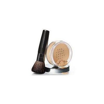 Mary Kay Mineral Powder Foundation with Brush, Beige 2