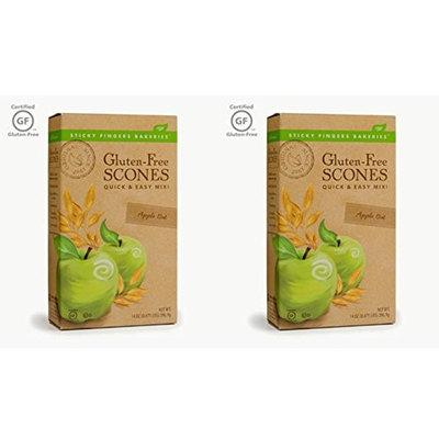 Sticky Fingers Bakeries Gluten-Free Scone Mix Apple Oat - 14 oz