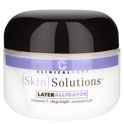 Clinical Care Skin Solutions Later Alligator Vitamin C Moisturizer 8 oz.