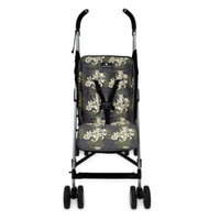 Balboa Baby Stroller Liner In Swirl- Grey, Cream and Sage