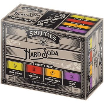 The Seagram Beverage Company Seagram's® Hard Soda Variety Pack 12-12 fl. oz. Cans