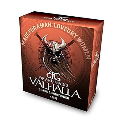 Beard Gains - Valhalla Beard Soap Conditioner | For Sensitive, Itchy, Dandruff Skin - Paraben & Sulfate Free! [Valhalla]