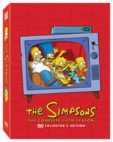 Twentieth Century Fox Simpsons Season 5 [dvd/4 Discs/sac/p & s/re-pkgd]