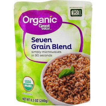 Wal-mart Store, Inc. Great Value Organic Seven Grain Blend, 8.5 oz