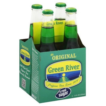 WBC Green River Soda - 4pk/12 fl oz Glass Bottles