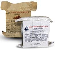 Sos Food Labs Inc. S.O.S. Rations Emergency 3600 Calorie Food Bar (Cinnamon + Coconut, 2 Pack)