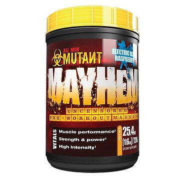 Mutant Mayhem Electric Blue Raspberry 1.6 lbs