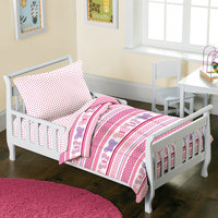 Dream Factory Butterfly Dots 4-pc. Bed Set - Toddler, Pink