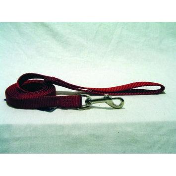 Hamilton Pet Company - Single Thick Nylon Lead- Red .63 X 4 - SLF 4RD