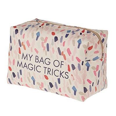 My Bag of Magic Tricks Pastel Confetti 7 x 4 Vegan Leather Cosmetic Bag