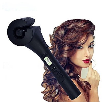 Automatic Hair Curler Ceramic Curling Iron Wand Roller Wave Machine Hair Styler with LCD Digital Display