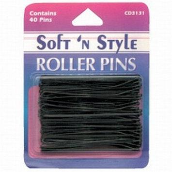 SOFT 'N STYLE Salon Beauty Hair Roller Pins 3