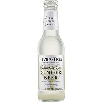 Fever-Tree Naturally Light Ginger Beer, 6.8-Ounce Glass Bottles (Pack of 6)
