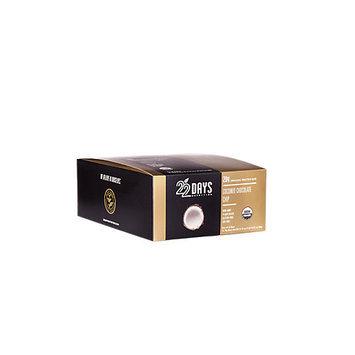 22 Days Nutrition - Organic Protein Bar Coconut Chocolate Chip - 12 Bars