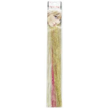 Mia Beauty Clip N Bling Hair Clip, Gold, 0.05 Ounce