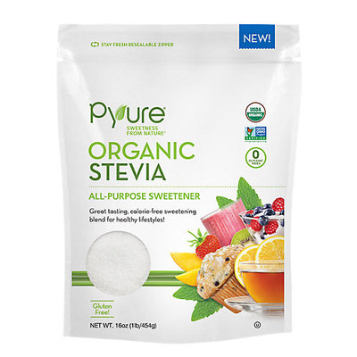 Pyure Organic Stevia All Purpose Sweetener-16 oz Bag