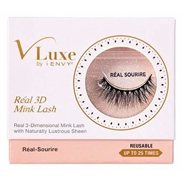 Kiss Vluxe Real 3D Mink Lashes Real Sourire (6 Pack)