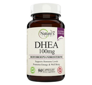 Nature's Potent - DHEA 100mg, Natural Dietary Supplement, 90 Capsules
