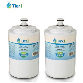 Maytag UKF7003 WF288 WSM-1 6014A Comparable Water Filter RWF1041 by Tier1 - 2 Pack