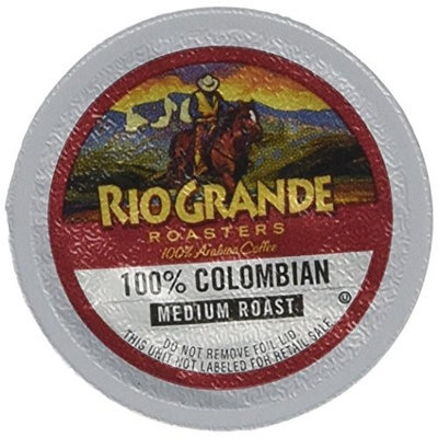 Rio Grande Roasters Coffee & Espresso 100% Colombian Coffee (80 Single Serve Cups per Case) FG013840