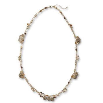 Jaclyn Smith Women's Goldtone Double-Strand Necklace