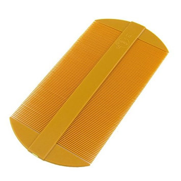 DierCosy Tooth Portable Two Side Plastic Hair Comb(orange)
