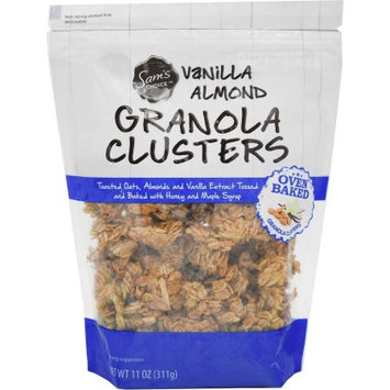 Sam's Choice Vanilla Almond Granola Clusters, 11 oz