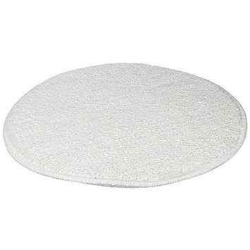Rubbermaid Commercial FGP25900WH00 21-Inch Low-Profile Bonnet, White (Pack of 5)