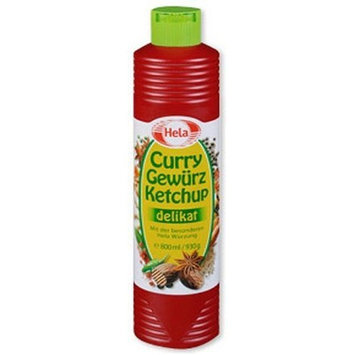Hela Curry Gewurz Ketchup Mild (400 ml/465g)