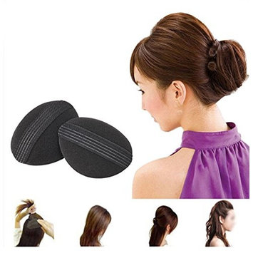 Flyusa 2 Pairs Bump It Up Volume Hair Base Styling Insert Tool Do Beehive Hair Styler Stick Bun Maker Braid Tool Hair Accessories for Women