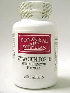 Ecological Formula ZyWobin Forte 200 tabs