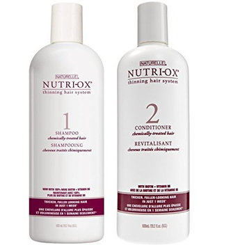 Naturelle Nutri-Ox Shampoo & Conditioner for Chemically Treated Hair (20.2 oz. Duo)