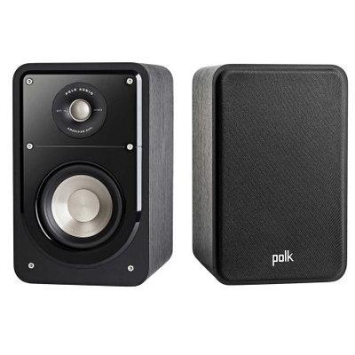 Polk Audio - Signature Passive 2-way Bookshelf Speaker (each) - Stunning Black Washed Walnut
