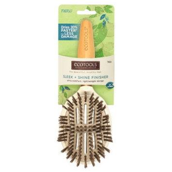 (3 Pack) EcoTools Sleep + Shine Finisher Hair Brush - Ultra Comfort, Lightweight Design