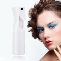 Gowind7 Hairdressing Spray Bottle Salon Barber Hair Tools Water Sprayer(White)(S)