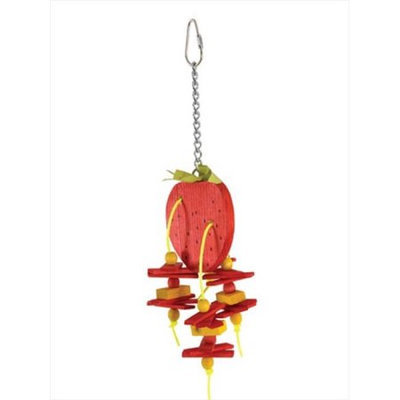 Caitec Bird Toys Caitec 640 Small 4 in. x 11 in. - Strawberry
