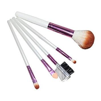 Lookatool 5pcs Cosmetic Makeup Brushes Set Blush Lip Brow Eyeshadow Brush
