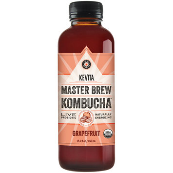 Kevita® Master Brew Kombucha™ Grapefruit Live Probiotic Drink 15.2 fl. oz. Bottle