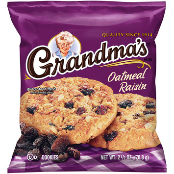 Grandma's® Oatmeal Raisin Cookies 2.5 oz. Wrapper
