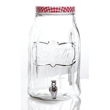 August Grove Hawkins Coca Cola 256 oz. Beverage Dispenser