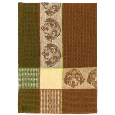 Traders And Company Puppy Face Dishcloth
