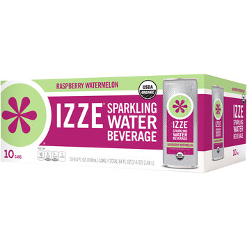 Izze® Raspberry Watermelon Sparkling Water Beverage 10-8.4 fl. oz. Cans