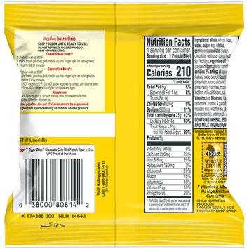 Kellogg's® Eggo Bites® Chocolate Chip Mini French Toast 3.3 oz. Bag
