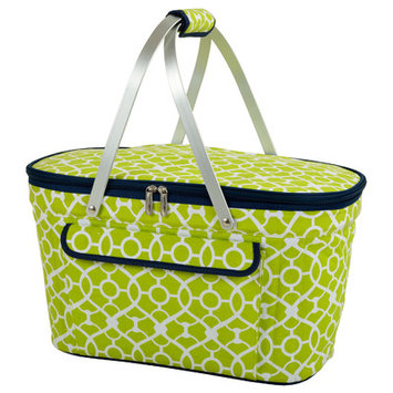 Freeport Park Collapsible Insulated Basket Color: Green