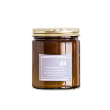 Winston Porter Scented 8 oz. Jar Candle with Gold Lid