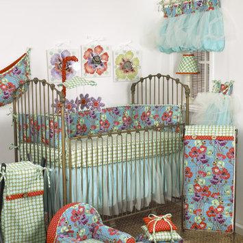 Cotton Tale Lagoon 10 Piece Crib Bedding Set